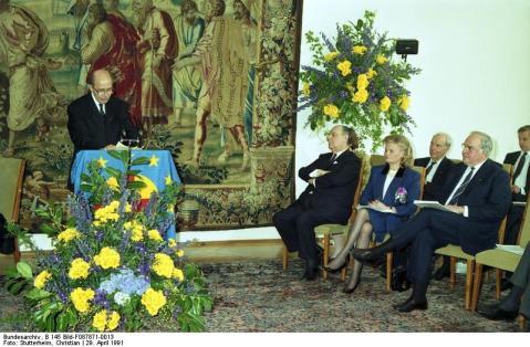 Bonn, Verleihung Coudenhove-Kalergi-Preis an Kohl