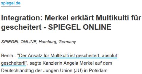 2010-10-16 spiegel.de merkel_multikulti_gescheitert