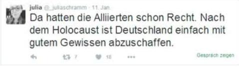 julia schramm Deutschland abschaffen