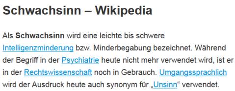 schwachsinn-wikipedia