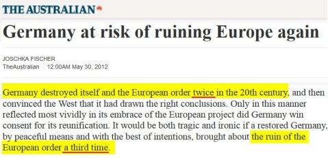 2012-05-30 AUSTRALIAN_Germany_at_risk_of_ruining_Europe_again