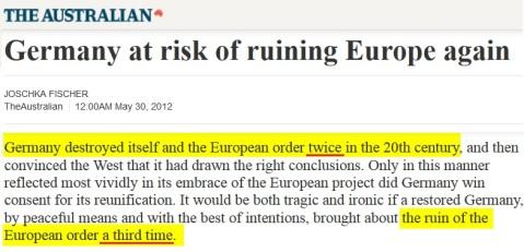 2012-05-30 AUSTRALIAN_Germany_at_risk_of_ruining_Europe_again