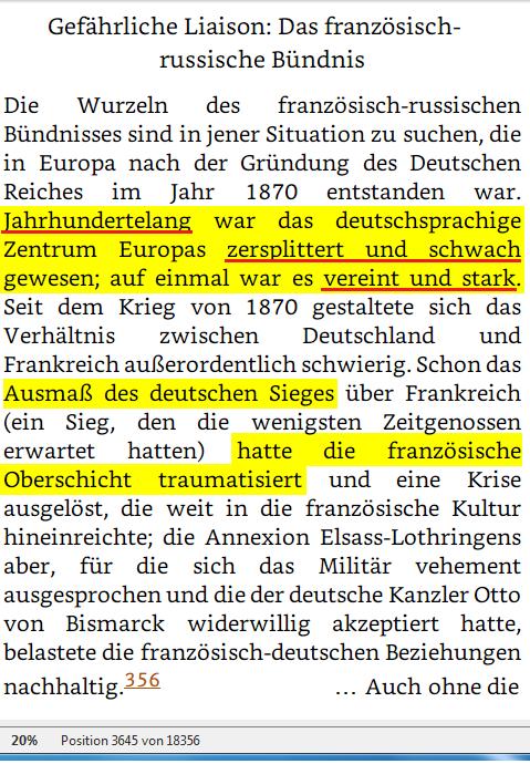 TEIL II EIN GETEILTER KONTINENT Kapitel 3 Die Polariesierung Europas 1887 - 1907 Pos 03645