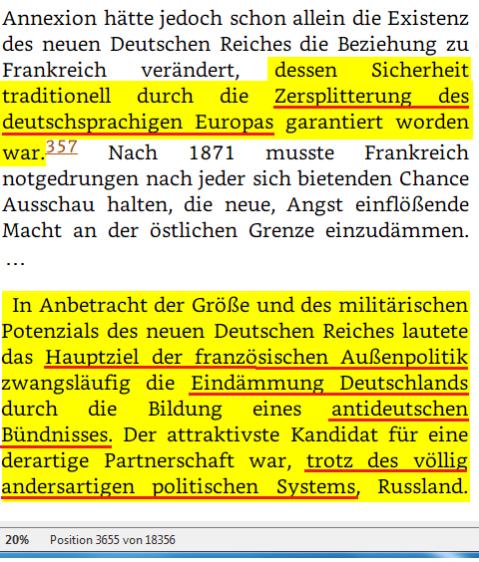 TEIL II EIN GETEILTER KONTINENT Kapitel 3 Die Polariesierung Europas 1887 - 1907 Pos 03655