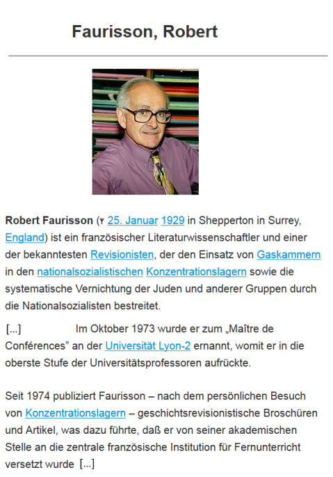 Faurisson_Robert_Metapedia