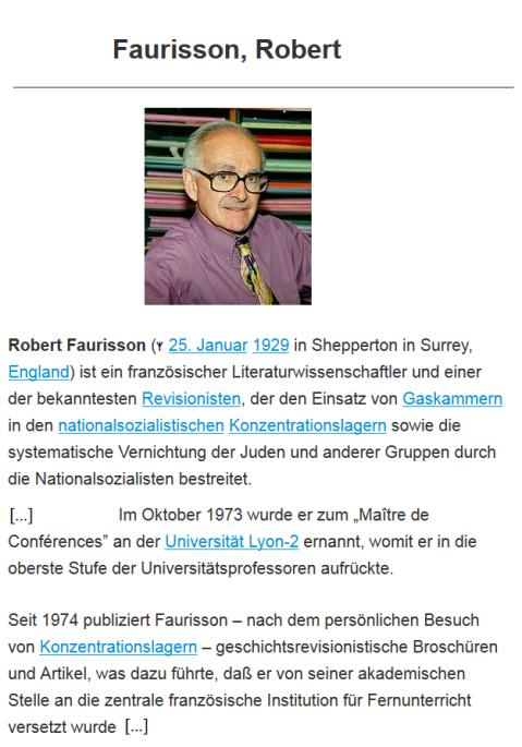Faurisson_Robert_Metapedia