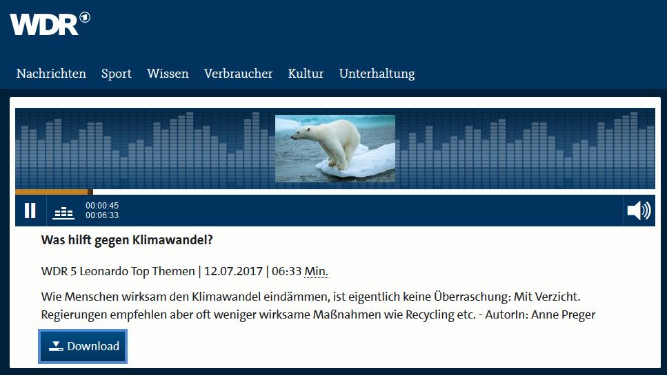 2017-07-12_Audio_Was_hilft_gegen_Klimawandel_WDR_5_Leonardo_Top_Themen_WDR_5_Audi