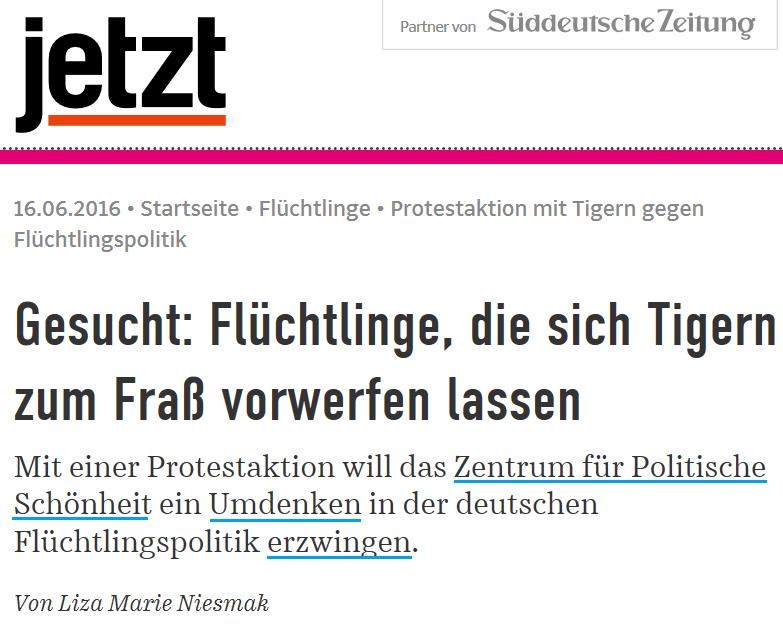 2016-06-16 JETZT_Protestaktion_mit_Tigern_gegen_Flüchtlingspolitik_Flüchtlinge_jetzt.de_Int