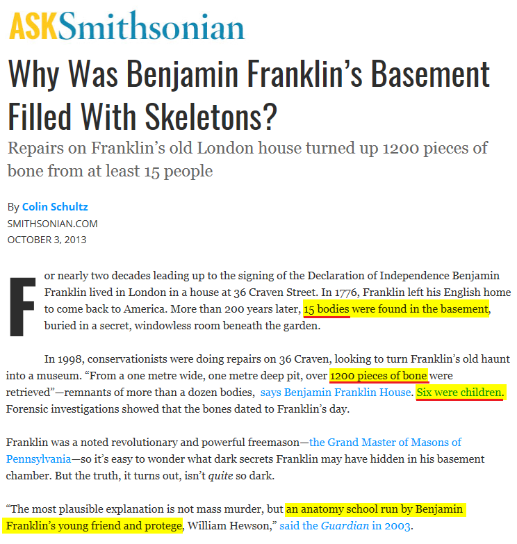 2013-10-03_SMITHSONIAN_Why_Was_Benjamin_Franklin_s_Basement_Filled_With_Skeletons_Smart_News_Smith